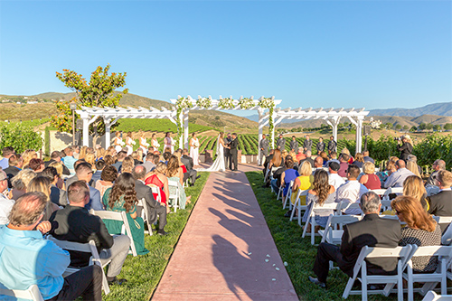 Wedding Ceremony In Temecula